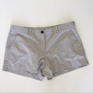 Gap Striped Khaki Shorts